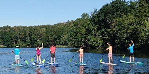 SUP Teamevent Schlachtensee-Stand-Up-Paddling-Stehpaddler-04