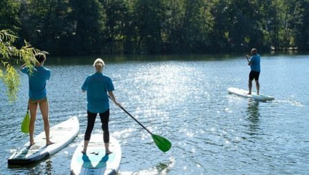 SUP Einzelcoaching Schlachtensee-Stand-Up-Paddling-Stehpaddler-01